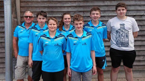 SV Breitenbach erreicht 7. Platz bei ÖM U16