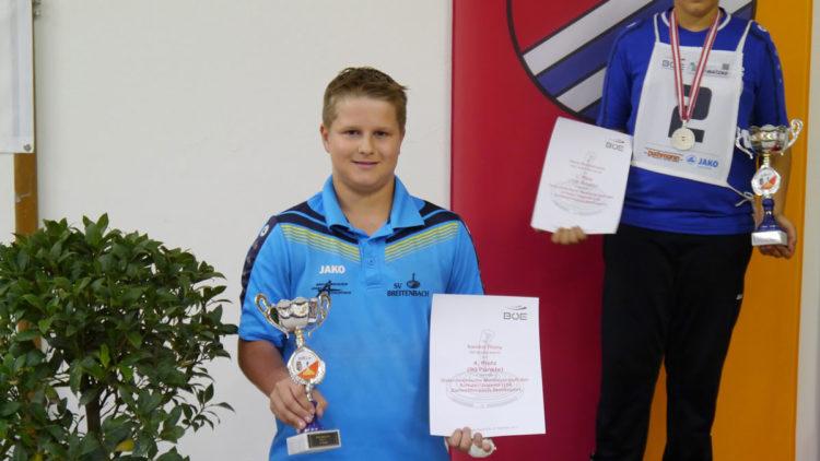 4.Platz bei ÖM Ziel für Sandro Thöny