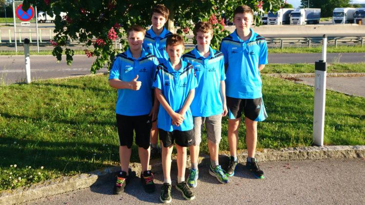 6. Platz für die U14 bei der Österreichischen Meisterschaft