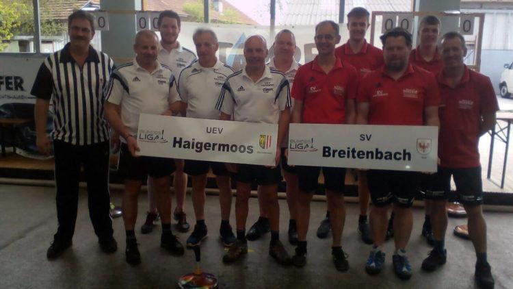 Wichtiger Auswärtssieg des SV Breitenbach in Haigermoos