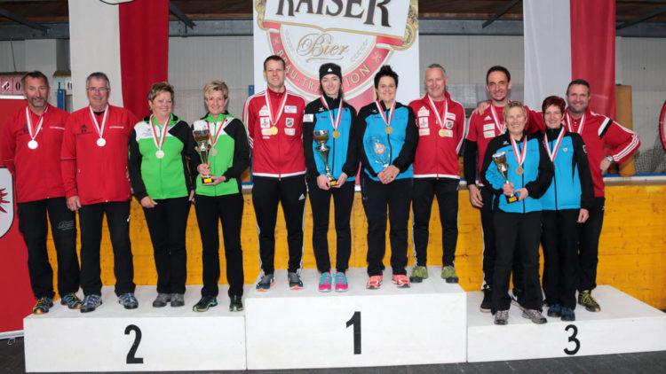 Der SV Breitenbach ist Vize-Landesmeister Mixed