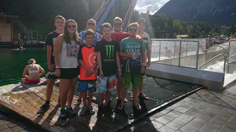 Ausflug der Jugend des SV Breitenbach in die Area 47