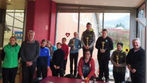 Erfolgreicher Zielbewerb für SV Breitenbach Jugend