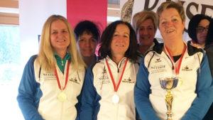Erfolgreiche LM der Damen vom SV Breitenbach 1