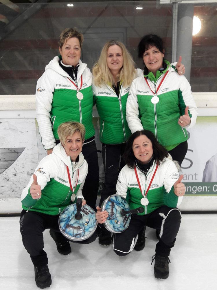 2. Platz Landesmeisterschaft der Damen - SV Breitenbach