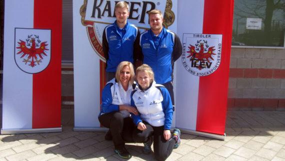 2.Platz bei der Unterliga Mixed für den SV Breitenbach 4