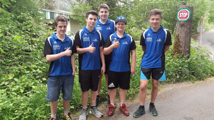 U19 des SV Breitenbach belegt 3. Platz bei LM
