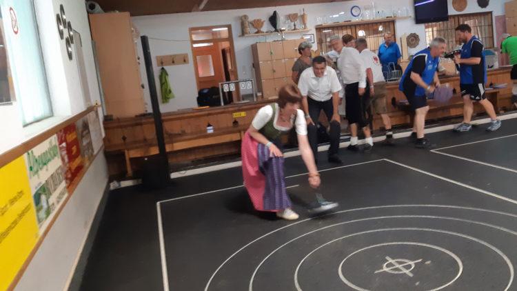 Einweihungsfeier unserer umgebauten Stocksporthalle