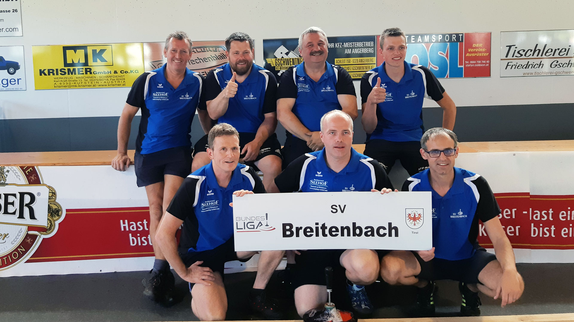 Starke Bundesliga 1 Saison des SV Breitenbach