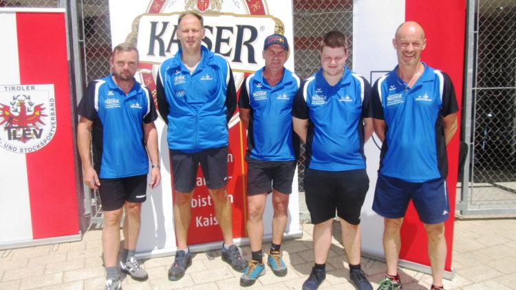 Steher des SV Breitenbach bei der Landesmeisterschaft
