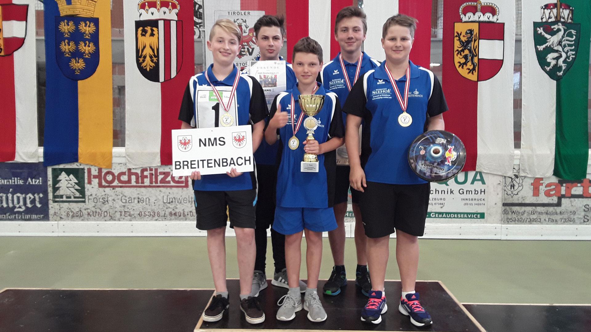 Breitenbach ist neuer österreichischer Schulmeister