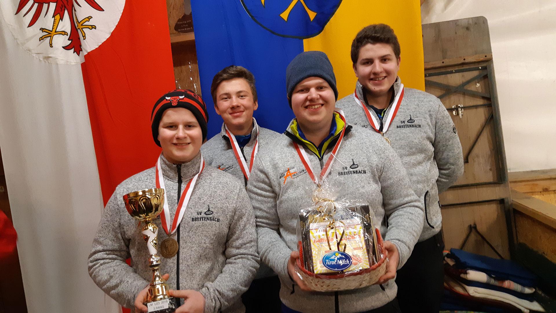 2 mal Dritter bei den Landesmeisterschaften U16 und U23