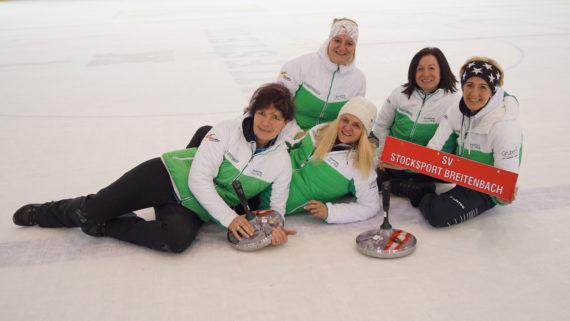 Steher bei der Bundesliga der Damen in Kufstein