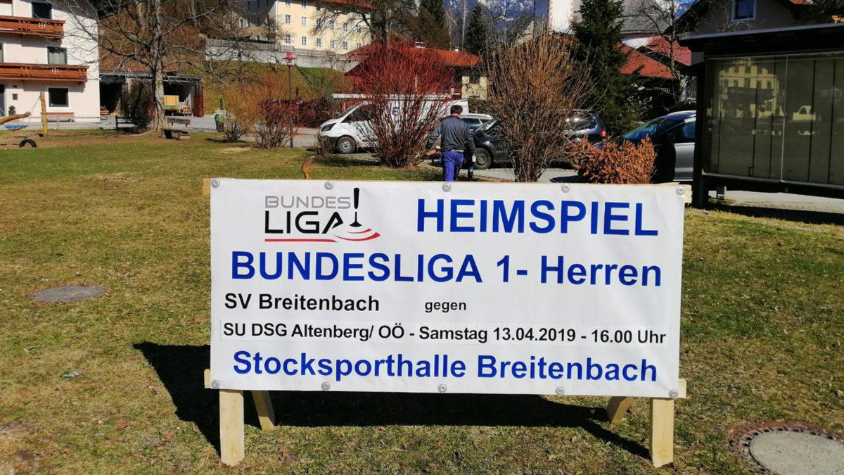 Erstes Bundesliga Heimspiel SV Breitenbach