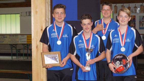 SV Breitenbach ist Vizelandesmeister U16