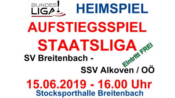 Bundesliga Viertelfinal Playoff in Breitenbach
