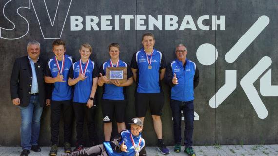 3. Platz für Breitenbach bei Landesmeisterschaft U19