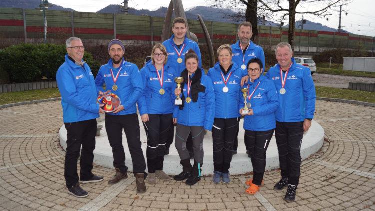 Doppelsieg von Breitenbach bei der Oberliga Mixed